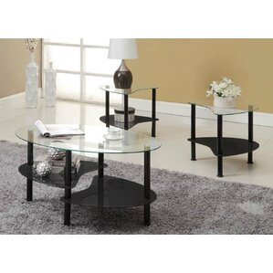 black coffee table sets - coffee tables | wayfair