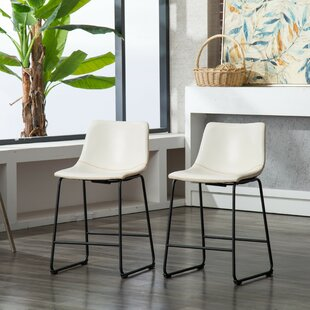 Stupendous Bamey Vintage Bar Counter Stool Set Of 2 Bralicious Painted Fabric Chair Ideas Braliciousco