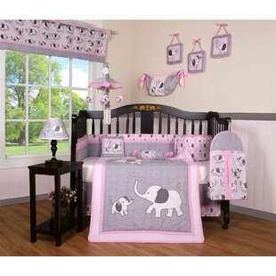 Best Reviews Elephant Dynasty Boutique 13 Piece Crib Bedding Set By Geenny