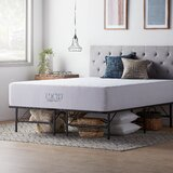 Fatima Upholstered Standard Bed with Mattress by White Noise