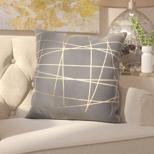 Chesmore Cotton Throw Pillow by Mercer41 New