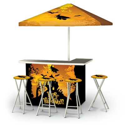 Wuest Halloween Witch 6-Piece Bar Set by East Urban Home Design