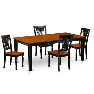 Loraine 5 Piece Dining Set