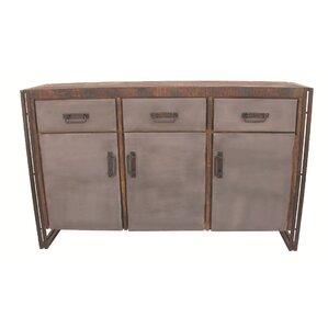 Allison 3 Drawer Sideboard by MOTI Furniture