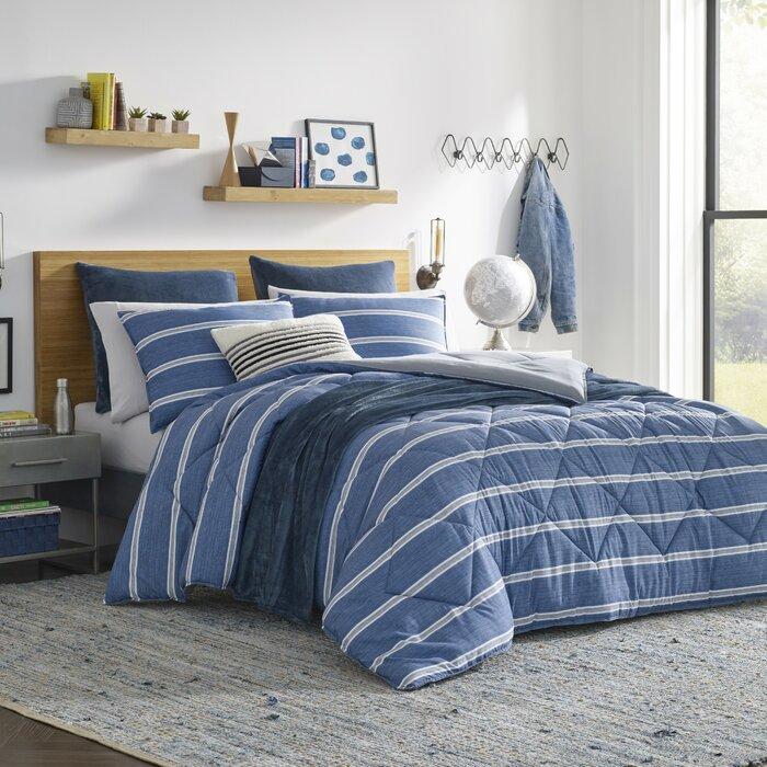 Keller Reversible Comforter Set