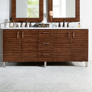 Compare Elbridge 72 Double Bathroom Vanity Set By Mercury Row
