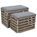 30 Inch Wide Storage Bench | Wayfair