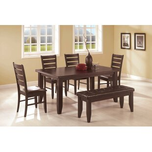 Leib 6 Piece Dining Set Alcott Hill