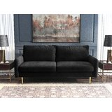 Kerela 71.65'' Velvet Round Arm Sofa