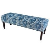 Kaufman Upholstered Bench by Alcott Hill®