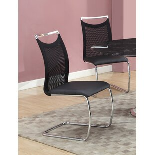 Jessy Upholstered Dining Chair (Set of 2) Orren Ellis