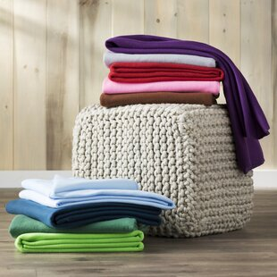 Wayfair Basics Fleece Throw Blanket
