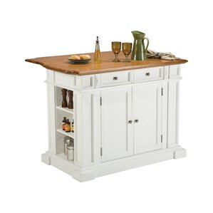 Ehrhardt Kitchen Island by Darby Home Co