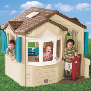 Awesome Naturally Playful Welcome Home Playhouse