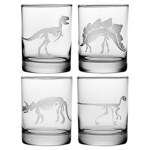 Jurassic Rocks Glass (Set of 4)