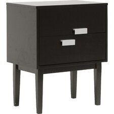 Baxton Studio Redgrave 2 Drawer Nightstand by Wholesale Interiors