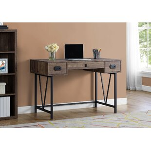 Schwartz Desk by Union Rustic Today Sale Only