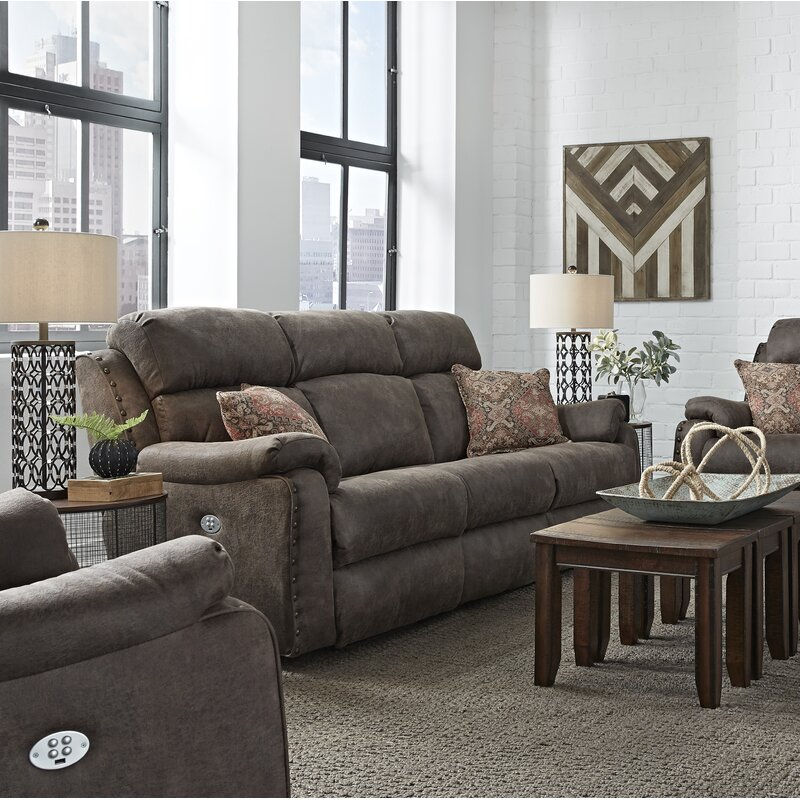 Southern Motion Ribbon Double Reclining Sofa Wayfair
