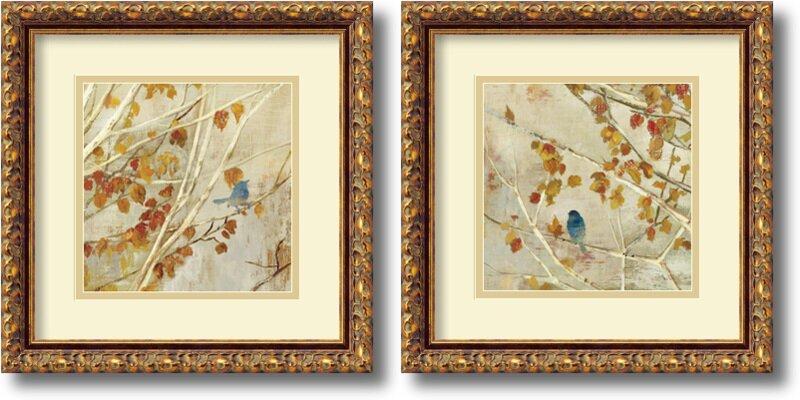 Three Posts \'Singing\' 2 Piece Framed Painting Print Set & Reviews ...