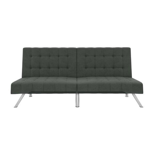 Henderson Velvet Convertible Sofa & Reviews