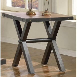 Bargain Sunday End Table by 17 Stories