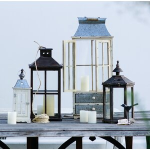 Borghese Candle 2 Piece Lantern Set