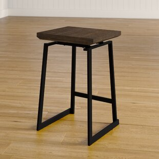 Platane Industrial Counter 24.25 Bar Stool (Set of 2) Gracie Oaks