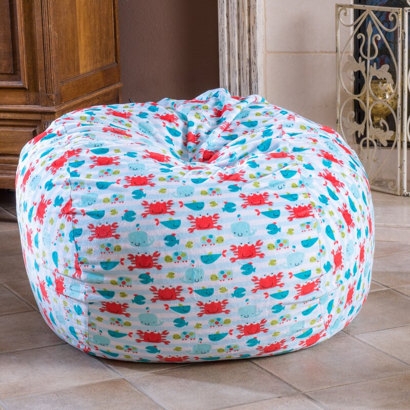 Charming Fabric Bean Bag Chair