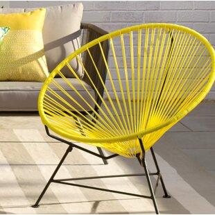 Papasan Patio Chair