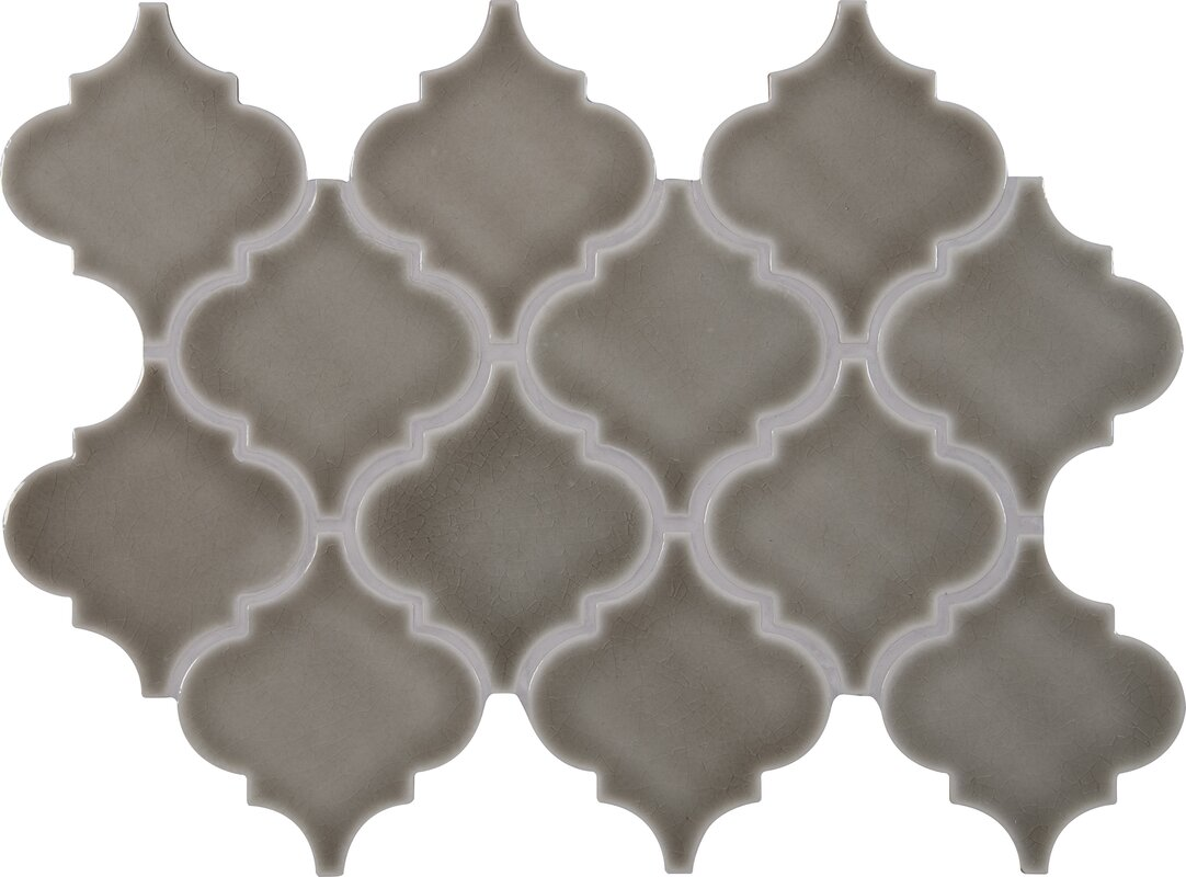 Msi highland park arabesque 1083 x 155 ceramic mosaic tile in highland park arabesque 1083 x 155 ceramic mosaic tile dailygadgetfo Image collections