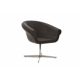Mazzola Swivel Barrel Chair by Ivy Bronx