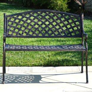 Buckley Cast Aluminum Park Bench