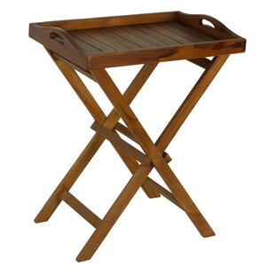 Kalos Teak Side Table by Bare Decor Cheap