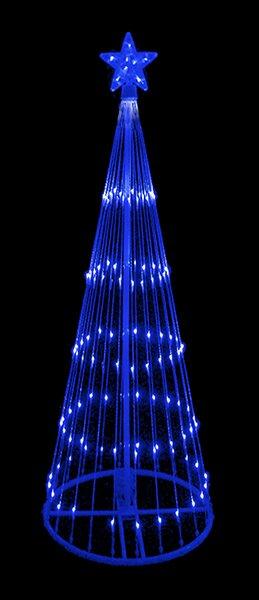 Lb international decorative led light show cone christmas tree decorative led light show cone christmas tree lighted yard art sciox Images