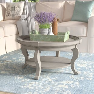 Valeriane Coffee Table With Tray Top