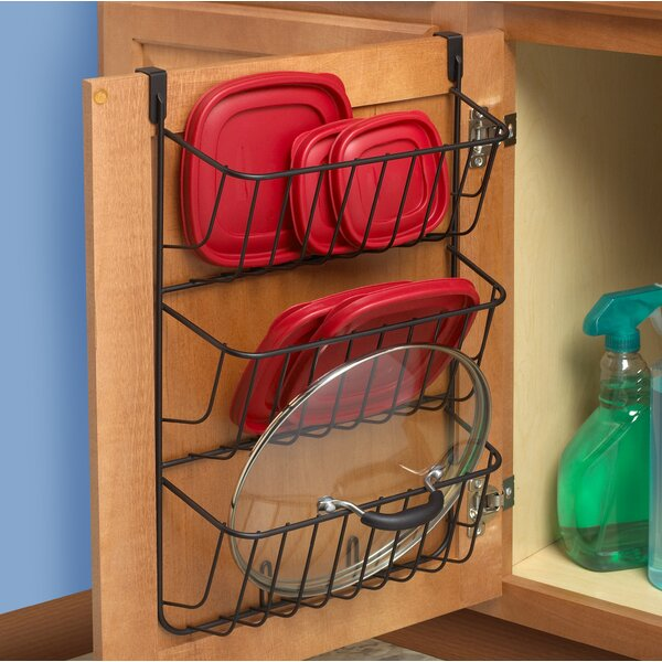 Over The Cabinet 3 Tier Lid Holder by Spectrum Diversified