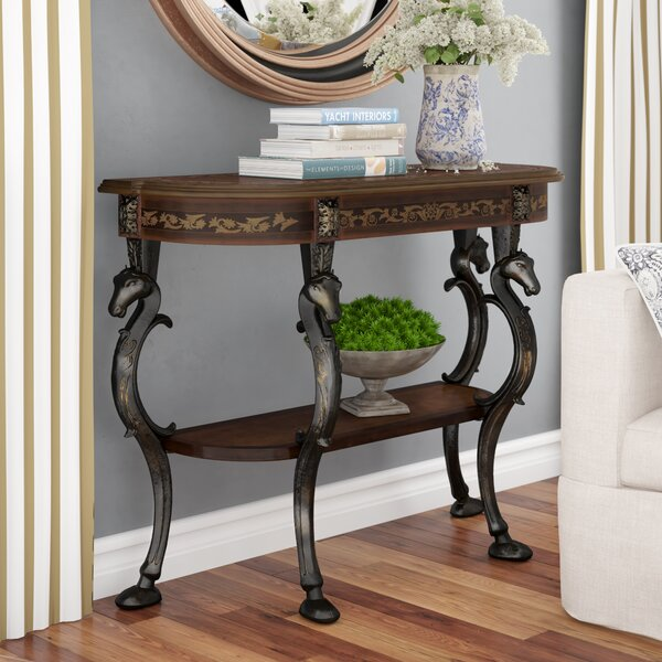 Magnificent Saw Horse Sofa Table Wayfair Ocoug Best Dining Table And Chair Ideas Images Ocougorg