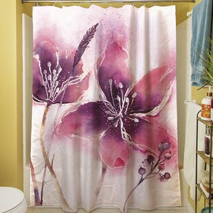 Garden Tour View Single Shower Curtain