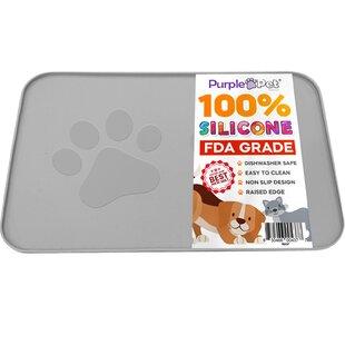 Personalized Dog Placement Pet Bowl Mat Custom name Food Mat Dachshund Dog Food Mat Puppy Feeding Mat Pet Mat