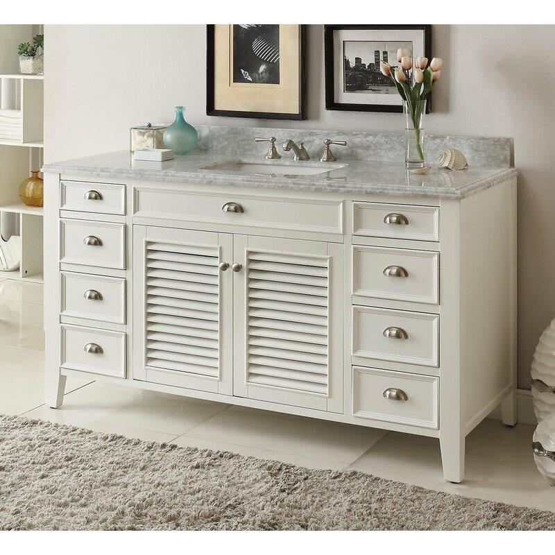 Charlton Home Reedsburg 60 Single Bathroom Vanity Set Wayfair