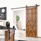 Arrow Standard Single Barn Door Hardware Kit