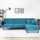 30 Reversible Sleeper Sofa & Chaise with Ottoman by Meister