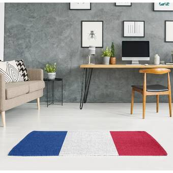 Astoria Grand Coulter Hand Look Persian Wool Red Blue Green Area Rug Wayfair