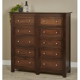 Bulter Mule 10 Drawer Chest by Darby Home Co