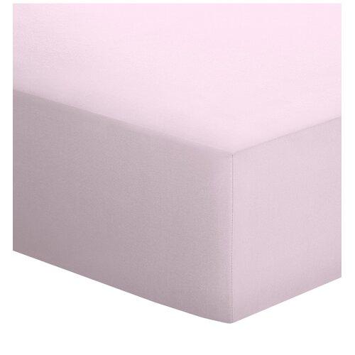 Spannbettlaken Jersey-Elasthan schlafgut Größe: 90-100 x 190-220 cm| Farbe: Zartrosa | Heimtextilien > Bettwäsche und Laken | schlafgut