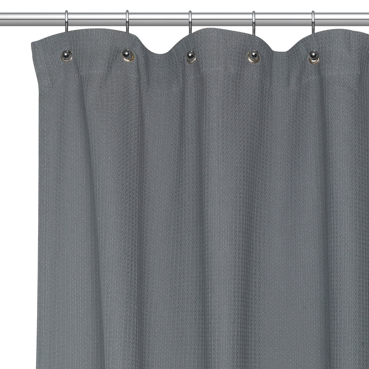 Orren Ellis Homerton Waffle Weave Cotton Single Shower