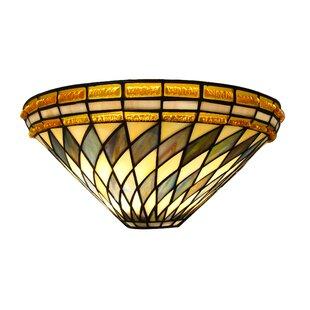 Find for 2-Light Tiffany Flush Mount By Fine Art Lighting
