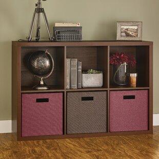 Affordable Decorative Storage Cube Unit Bookcase ByClosetMaid