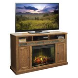 Oak Creek TV Stand for TVs up to 70 with Electric Fireplace Included by Legends Furniture