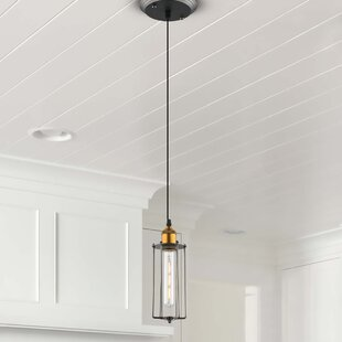 Bargain Galanti 1-Light LED Geometric Pendant By 17 Stories